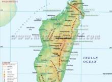Madagascar Map