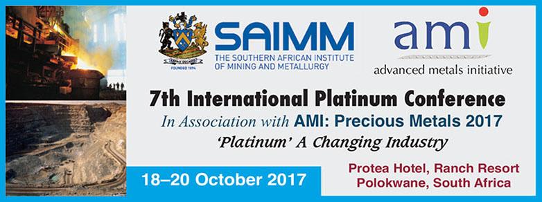 SAIMM Pt Announcement