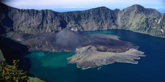 Segara Anak lake and Gunung Baru, Gunung Rinjani region