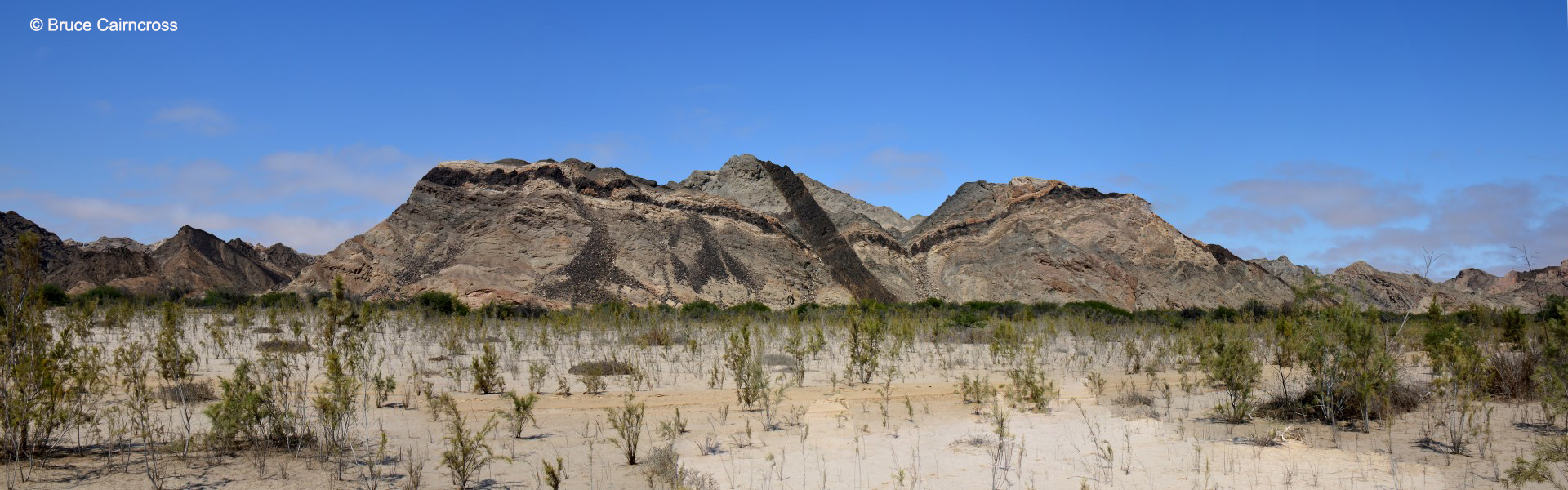 Swakop River Namibia Panorama Cairncross