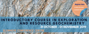 Introductory Course in Exploration & Resource Geochemistry