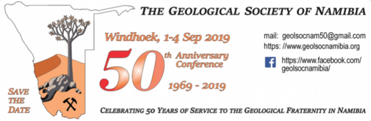 Geological Society of Namibia 50th Anniversary Conference