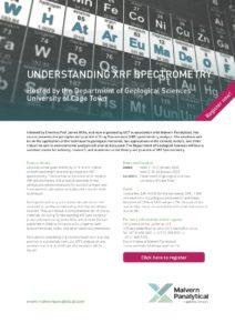 Understanding XRF Spectrometry
