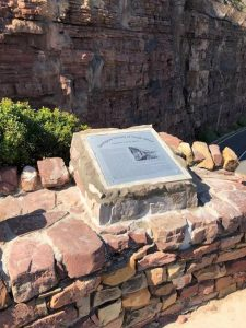 Geological Plaque erected along Chapman's Peak