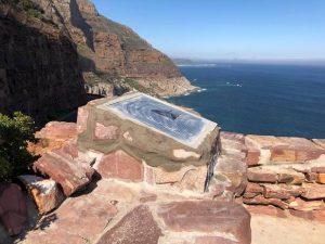Geological Plaque erected along Chapman's Peak